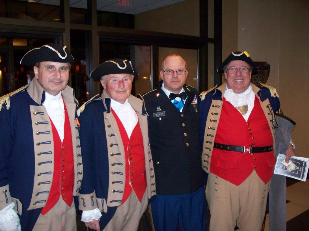 Pictured here is the MOSSAR Color Guard Team, taken after the presentation and retirement of the colors at the 209th Regional Support Group Dining In, located in Overland Park, KS on February 25, 2012.  In the photo, the MOSSAR Color Guard Team is shown with the 209th Regional Support Group Command Sergeant Major.