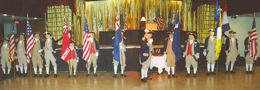 Pictured here is the MOSSAR and KSSSAR Color Guard Team taken at the 21st Annual George Washington Birthday Celebration in Kansas City, MO on February 24, 2007.