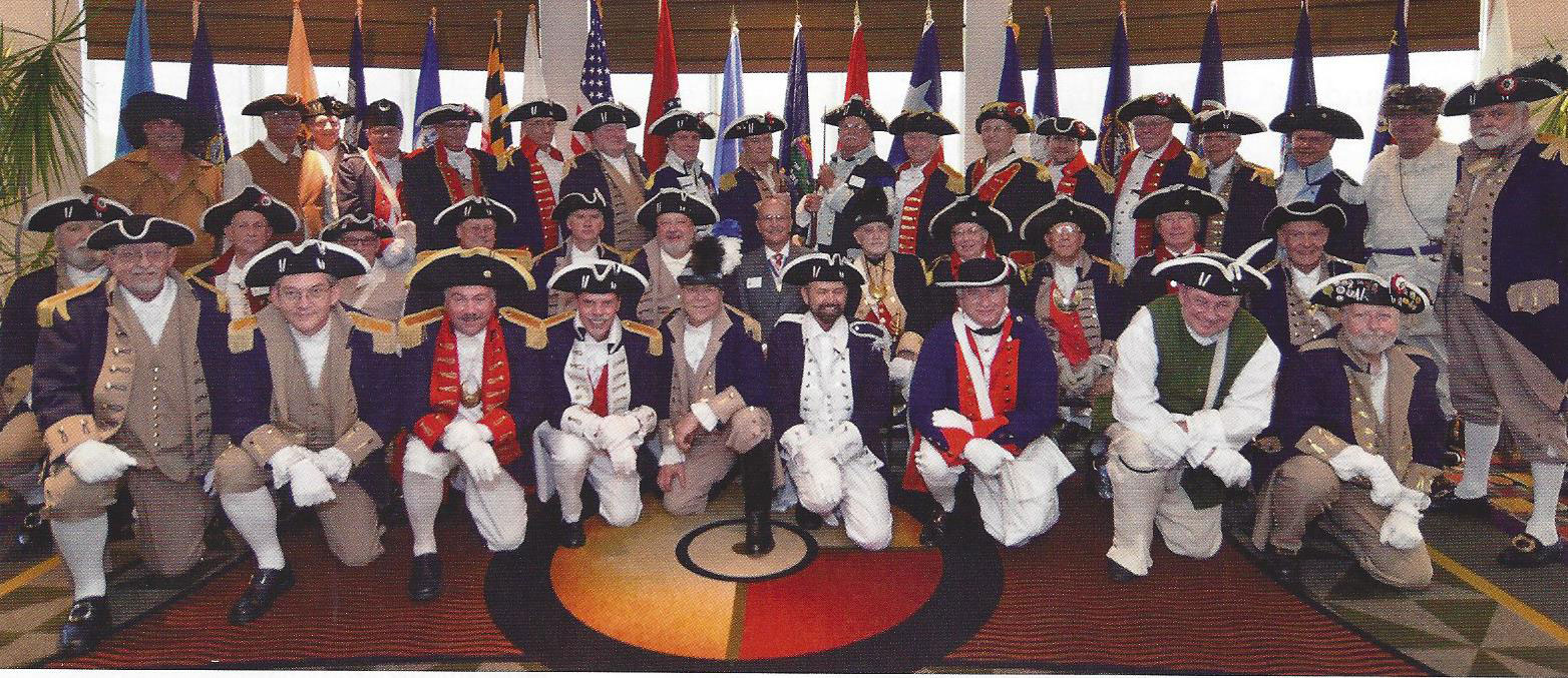 The South Central District Color Guard is shown here participating at the South Central District Annual Meeting at the Hilton Garden Inn Hotel DFW South, Irving, Texas on August 22-23, 2014.