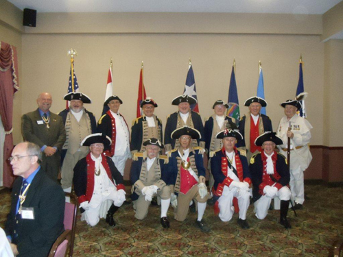 The South Central District Color Guard is shown here participating at the South Central District Annual Meeting at the Grand Plaza Hotel in Branson, Missouri on August 24-25, 2012.