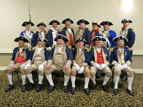 The South Central District Color Guard is shown here participating at the South Central District Annual Meeting at the DoubleTree (Downtown) Hotel in Tulsa, Oklahoma on August 23-24, 2013.