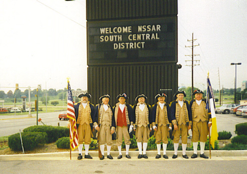 SCD Color Guard Team, St. Louis, MO on September 12-13, 1997