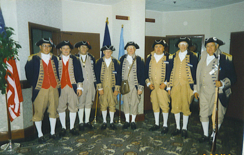 SCD Color Guard Team, Tulsa, Oklahoma on August 28-29, 1998