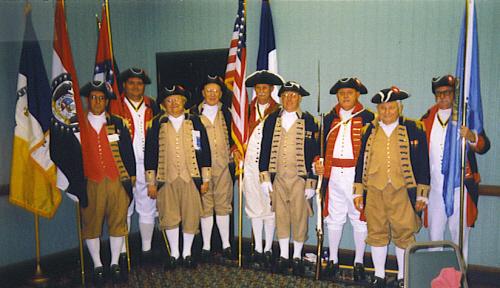 SCD Color Guard Team, Dallas, TX on August 27-28, 1999