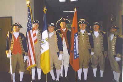 SCD Color Guard Team, Little Rock, Arkansas on August 25-26, 2000
