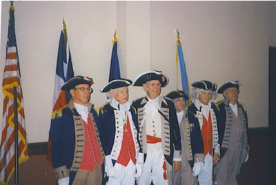 SCD Color Guard Team, Oklahoma City, Oklahoma on August 22-23, 2003