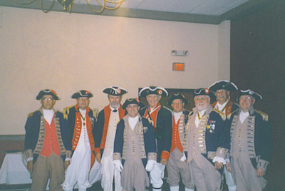 SCD Color Guard team, Oklahoma City, Oklahoma on August 22-23, 2003