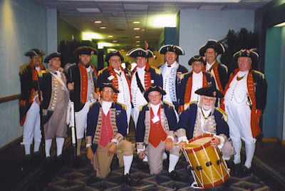 SCD Color Guard Team, Irving, Texas, on August 27-28, 2004