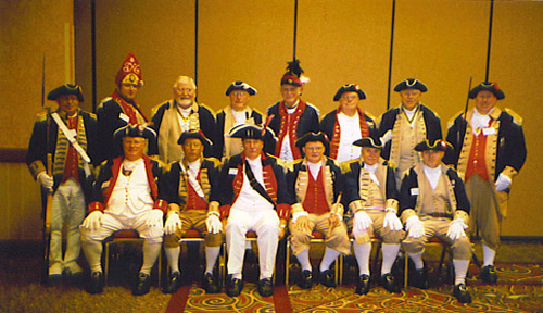 SCD Color Guard Team during 2005 at MOKAT Meeting, Rogers, AR on August 26-27, 2005