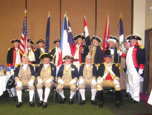 The South Central District Color Guard is shown here participating at the South Central District Annual Meeting in Oklahoma City, Oklahoma on August 22-23, 2008.