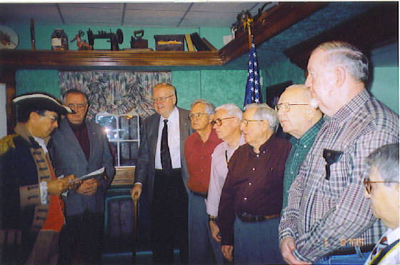 2005 Harry S. Truman Chapter Officers